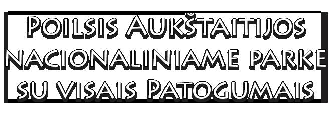 Poilsis Aukštaitijos nacionaliniame parke su visais Patogumais